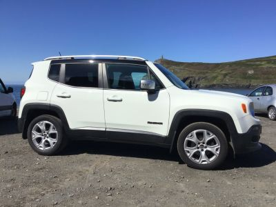 Jeep Renegade 2.0 Multijet Limited 5dr 4WD Auto Estate Diesel WhiteJeep Renegade 2.0 Multijet Limited 5dr 4WD Auto Estate Diesel White at Franklins Ltd Port Erin