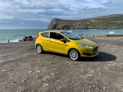 Ford Fiesta 1.4 Titanium 3dr Hatchback Petrol YellowFord Fiesta 1.4 Titanium 3dr Hatchback Petrol Yellow at Franklins Ltd Port Erin