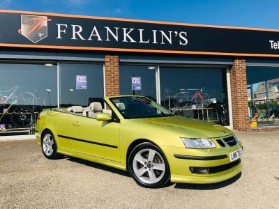 Saab 9-3 2.8T V6 Aero Convertible 2dr Convertible Petrol YellowSaab 9-3 2.8T V6 Aero Convertible 2dr Convertible Petrol Yellow at Franklins Ltd Port Erin