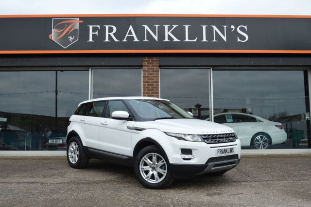 Land Rover Range Rover Evoque 2.2 ED4 Pure 2WD Four Wheel Drive Diesel White