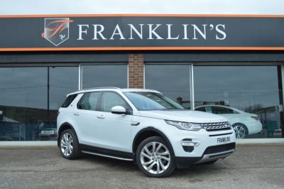 Land Rover Discovery Sport HSE Lux 2.2 SD4 Four Wheel Drive Diesel WhiteLand Rover Discovery Sport HSE Lux 2.2 SD4 Four Wheel Drive Diesel White at Franklins Ltd Port Erin