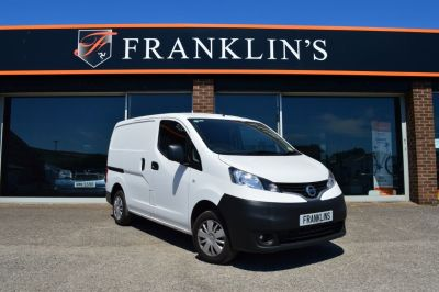 Nissan NV200 1.5 dCi Acenta Panel Van Diesel WhiteNissan NV200 1.5 dCi Acenta Panel Van Diesel White at Franklins Ltd Port Erin
