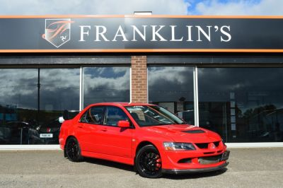 Mitsubishi Lancer Evolution Viii 2.0 EVO VIII FQ340 MR Sports Petrol RedMitsubishi Lancer Evolution Viii 2.0 EVO VIII FQ340 MR Sports Petrol Red at Franklins Ltd Port Erin
