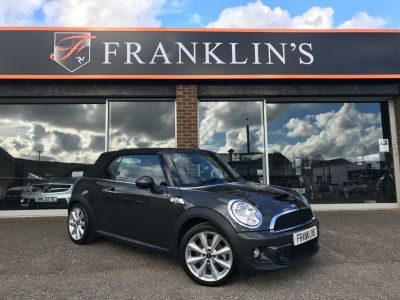 Mini Convertible 1.6 Cooper S Avenue 2dr Convertible Petrol GreyMini Convertible 1.6 Cooper S Avenue 2dr Convertible Petrol Grey at Franklins Ltd Port Erin