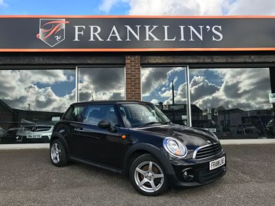 Mini Hatchback 1.6 One 3dr Hatchback Petrol BlackMini Hatchback 1.6 One 3dr Hatchback Petrol Black at Franklins Ltd Port Erin