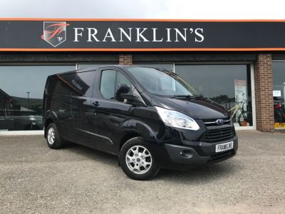 Ford Transit Custom 2.2 TDCi 125ps 290 E-Tech Panel Van Diesel BlackFord Transit Custom 2.2 TDCi 125ps 290 E-Tech Panel Van Diesel Black at Franklins Ltd Port Erin
