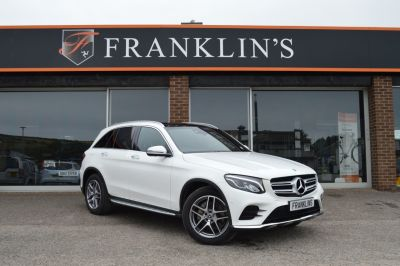 Mercedes-Benz GLC 2.1 GLC 220d 4MATIC AMG Line Four Wheel Drive Diesel Polar WhiteMercedes-Benz GLC 2.1 GLC 220d 4MATIC AMG Line Four Wheel Drive Diesel Polar White at Franklins Ltd Port Erin