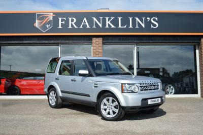 Land Rover Discovery 4 Discovery 4 3.0 SDV6 GS Four Wheel Drive Diesel Silver at Franklins Ltd Port Erin