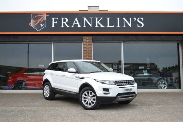 Land Rover Range Rover Evoque 2.2 eD4 Pure Tech Pack 5dr 2WD Estate Diesel White