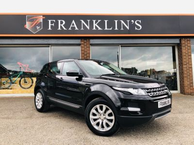 Land Rover Range Rover Evoque 2.2 SD4 Pure Tech Pack 5dr 4WD Estate Diesel Metallic BlackLand Rover Range Rover Evoque 2.2 SD4 Pure Tech Pack 5dr 4WD Estate Diesel Metallic Black at Franklins Ltd Port Erin