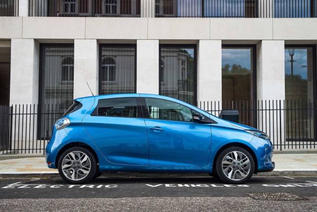 Renault Zoe Dynamique Nav ZE40 90 Hatchback Electric Metallic Blue