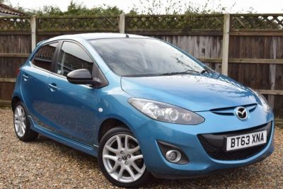 Mazda 2 1.3 Venture Edition 5dr Hatchback Petrol BlueMazda 2 1.3 Venture Edition 5dr Hatchback Petrol Blue at Franklins Ltd Port Erin
